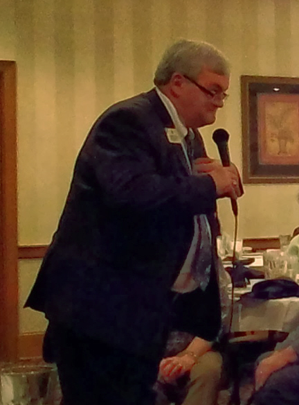 ID STeve Glass spoke to the luncheon on Saturday