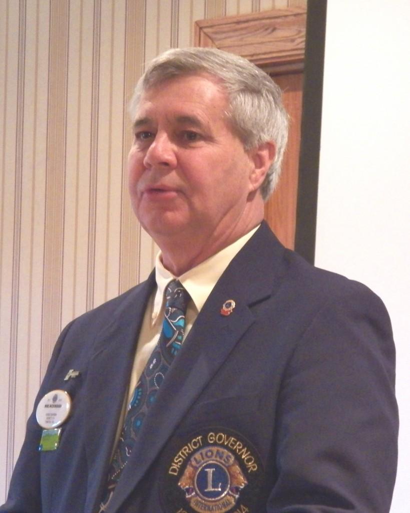 PDG Mike McDonough